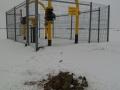 badania gazociąg zima